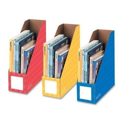 """Bankers Box 4"""" Magazine File Holders 3381701"""