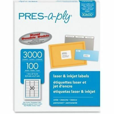 PRES-a-ply Address Label 30600