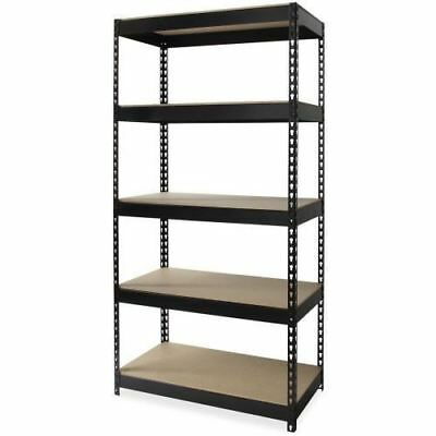 Lorell Riveted Steel Shelving 61620