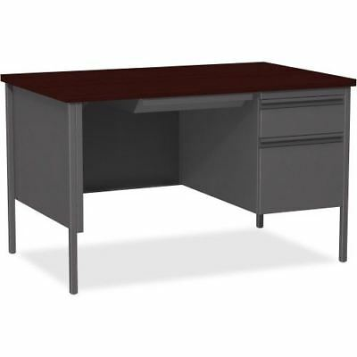"Lorell Fortress Series 48"" Right Single-Pedestal Desk 66903"