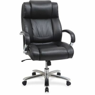 Lorell Big and Tall Leather Chair with UltraCoil Comfort 99845