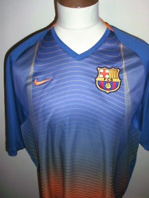 Barcelona Football Shirt Size Xxl