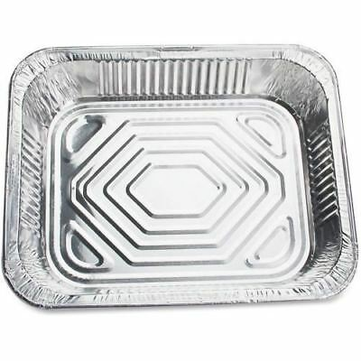 Genuine Joe Half-size Disposable Aluminum Pan 10702