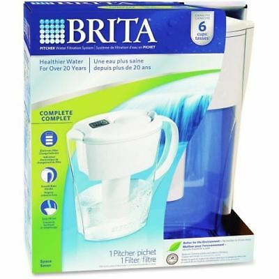 Brita Water Filtration System 6-cup Pitcher 635566FRM2