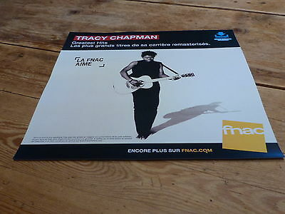 Tracy Chapman - Greatest Hits !!!!!!!french Display / Plv 30 X 30