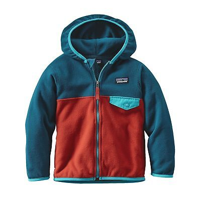 Patagonia Micro D® Snap-T® Jacket Baby Ramble Red Size 3-6m New