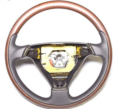 Alfa Romeo 916 GTV & Spider Wood & Leather Steering Wheel New Genuine 156033022