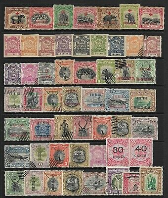 NORTH BORNEO Selection on Old Stock Page