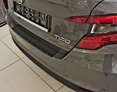 FIAT TIPO AB 2015- Bumper Protection With ABK Carbon Style