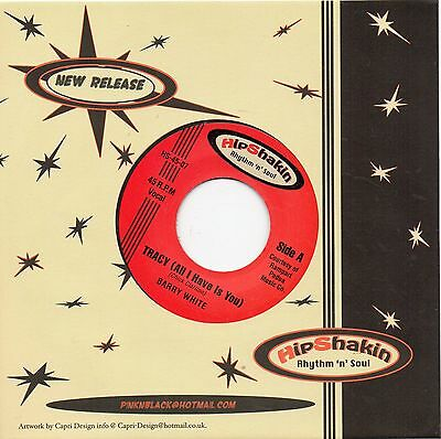 Barry White-Tracy/big Mama Thornton- Wade In The Water Uk Hipshakin Northern/r&b