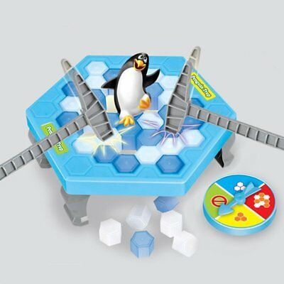 Hot Hammer Save the Penguin on Ice Game Break Ice Block Trap Family Fun Toy Game