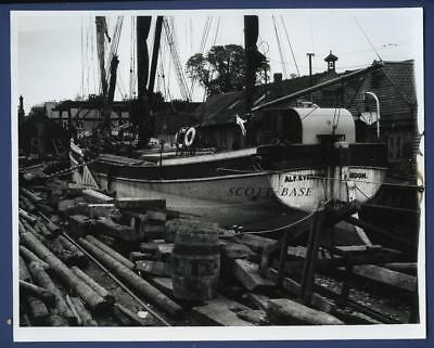 Sailing Barge Spritsail Barge Alf Everard Dry Dock Built Fellows Great Yarmouth