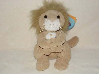With Tags Chad Valley Lion Mother And Cub Soft Toy Comforter Doudou