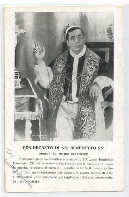 52135095 - Papst Benedetto XV.