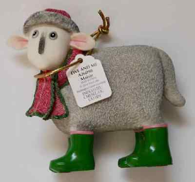 Lovely Border Fine Arts Ewe And Me Maisie Sheep Ornament A26098 (2014) *new*xmas