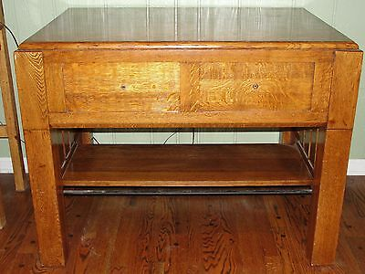Antique Murphy Table Bed Ta-Bed Mission Oak Arts & Crafts