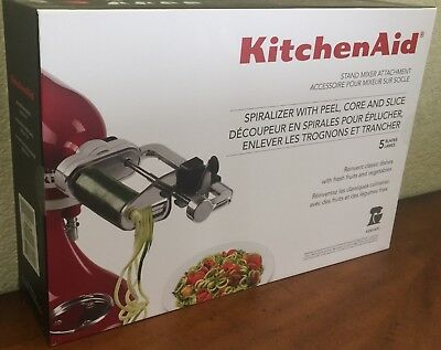 Brand New KitchenAid KSM1APC Spiralizer Attachment
