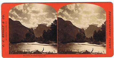 Stereoview By J.j Reilly - Yosemite Valley  - Day Dawn