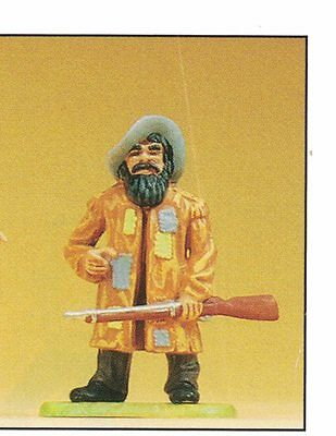 Preiser Elastolin 54955 Sam Hawkens 1:25 Karl May Collector's Figurine