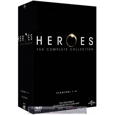 DVD - Heroes - The complete collection - Stagioni 01-04 (23 Dischi)