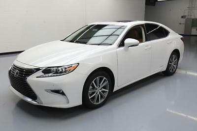 2016 Lexus ES Base Sedan 4-Door 2016 LEXUS ES300H HYBRID PREMIUM SUNROOF REAR CAM 14K #112741 Texas Direct Auto