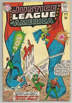 Justice League of America #18! VG Condition 4.0!!