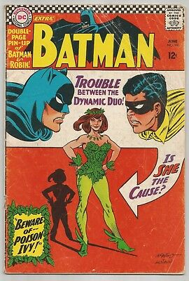 Batman #181! First Appearance of Poison Ivy! Good/VG Condition 3.0!!