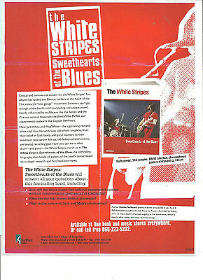 The White Stripes Jack White, Sweethearts of the Blues, Full Page Promotional Ad