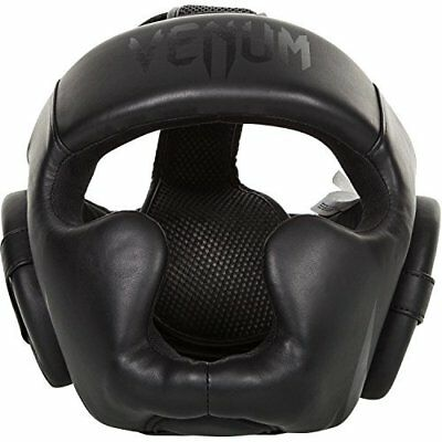 Venum Challenger 2.0 Head Gear - Black/Matte Black, One Size