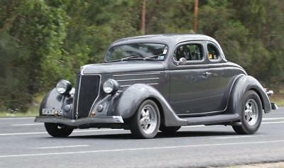 Ford 1936 5 window coupe hot rod