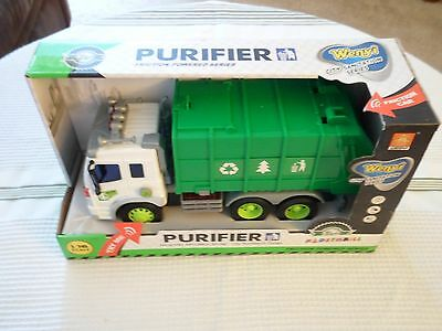 Wenyi City Sanitation Series Purifier Friction Truck WY307S Lights & Sound New