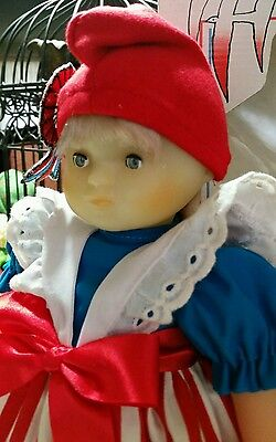 """Corolle French Doll Bicentennial French 1789 Poupee Marianne 1989 signed NWB 13"""""""