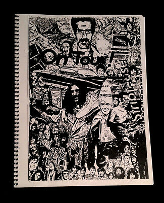 1968 Frank Zappa Uk Festival Hall Scene Script+ Uncle Meat Film Budget Booklet