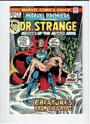 Marvel PREMIERE Featuring Dr. Strange #9 Brunner cover/art 1973 Vintage Comic