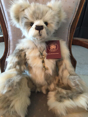 """Marshmallow * Charlie Bears 2016 Plush  * 17.5"""" New With Tags"""