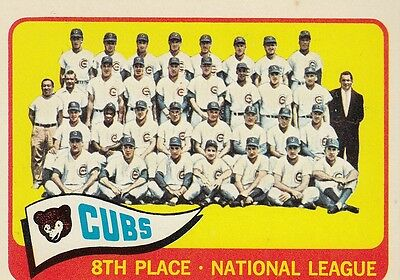 Topps 1965 #91 Chicago Cubs Team Card