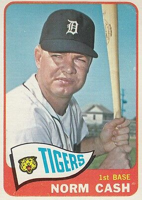 Topps 1965 #153 Norm Cash-Detroit Tigers