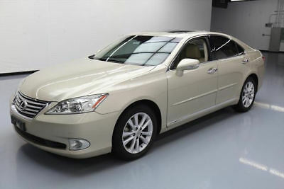 2011 Lexus ES Base Sedan 4-Door 2011 LEXUS ES350 3.5L V6 CLIMATE LEATHER SUNROOF 88K MI #421567 Texas Direct