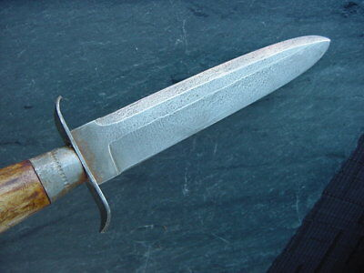 Old Forged Spear Point Bowie Knife Dagger Fighting Hunting Custom Vintage Bone