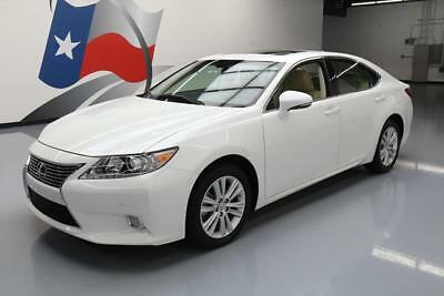 2014 Lexus ES Base Sedan 4-Door 2014 LEXUS ES350 SUNROOF REAR CAM VENT SEATS 12K MILES #146338 Texas Direct Auto