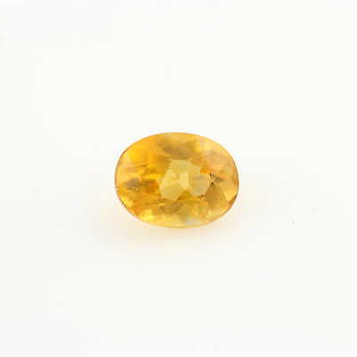 76ct. lose Kalzit Edelstein - Orange 6.64mm x 5.14mm Ovalschliff