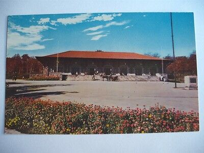 Mount-Royal Lookout Chalet Montreal Canada Photo Courtesy Cpr Canada Postcard