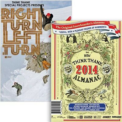 Think Thank Snowboard DVD, Almanac & Right Turn Left Turn