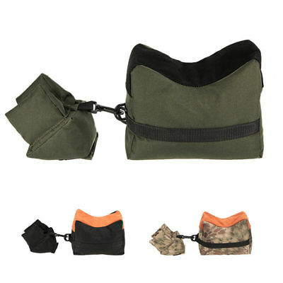 Front&Rear Sandbag Hunting Shooting Rifle Support Oxford Cloth Unfilled Package