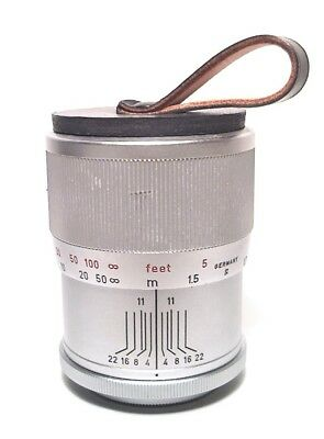 Leica No. 11045 Zooan Screw Mount 135Mm Short Focusing Tube & Caps - Minty Clean
