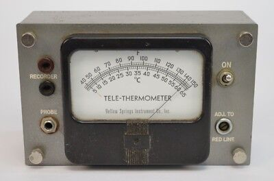 Yellow Springs Instruments Tele-Thermometer 43TS No Probes