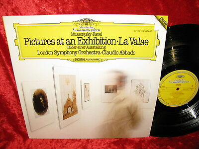 1982 German Nm+ Dg Stereo 2532 057 Digital Mussorgsky-Ravel Pictures At An Exhib