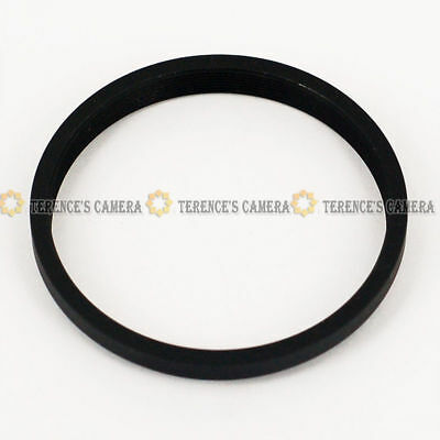 52mm-46mm 52-46 mm Step Down Stepping Lens Filter Adapter Ring Black