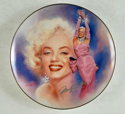 Marilyn Monroe Collector Plate from The Bradford Exchange 1st issue