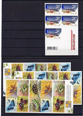 Australia , Valid Postage ,insects , Only Booklets, Face Value Aus $ 25 , Mnh